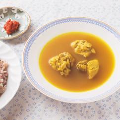 とり肉のスープカレー