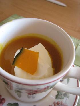 カボチャ嫌いの為のかぼちゃスープ