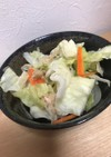 レンジで簡単キャベツの温野菜