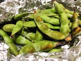 枝豆のホイル焼き★簡単おつまみ