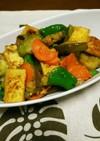 簡単常備菜♪白ナスと厚揚げの味噌炒め