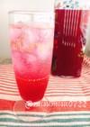 お砂糖なし!レモンで赤紫蘇ジュース