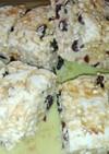妊娠中の大麦とナッツとレーズンのスコーン