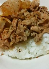 吉野家味の豚丼!