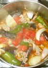 夏野菜と牛肉のスープ♪簡単コンソメなし
