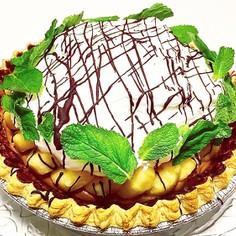 バナナ・チョコレートムースパイ