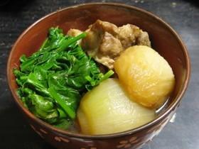 スペアリブのサッパリ煮(和風シチュー)