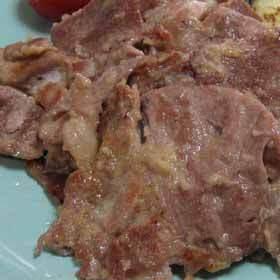 ★豚肉の味噌しょうが焼き