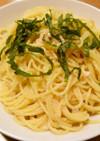 タラコと大葉のスパゲティー