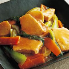 めかじきと青梗菜のオイスターソース煮