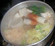 蒟蒻ソイヌードル鍋の写真