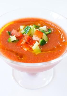 食べるスープ☆ガスパチョ