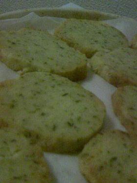 さくさく☆緑茶クッキー