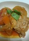 スペアリブの和風トマト煮込み。