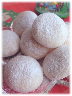 ☆クリスマスのお菓子☆スノーボール