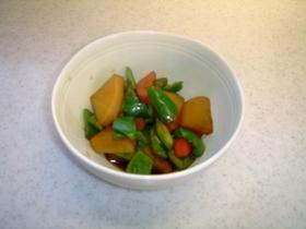 根菜の酢醤油煮