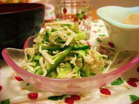 ささ身ときゅうりのサラダ