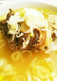 簡単☆栄養満点☆牛テールスープ