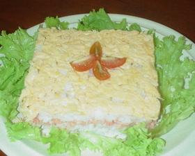 おしゃれなご飯☆型押し鮭フレーク寿司