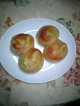 ほくほくさつまっちゃパン☆