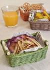 ゴボウと彩りの野菜チップス