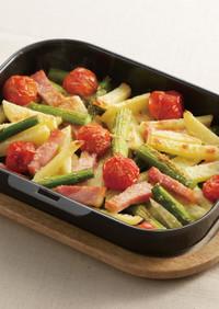 ベーコンと野菜のグリル焼き