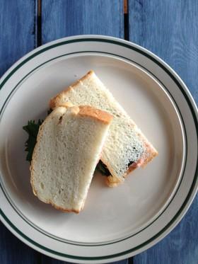 これはうまい!明太サンドイッチ