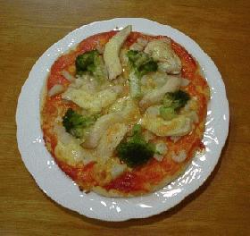 ホームベーカリーでふっくらピザ