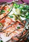 火を使わずに、簡単鮭マヨ丼~♪