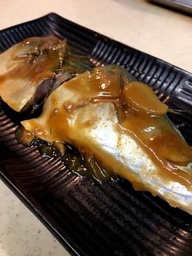 鯖の味噌煮 フライパンで簡単