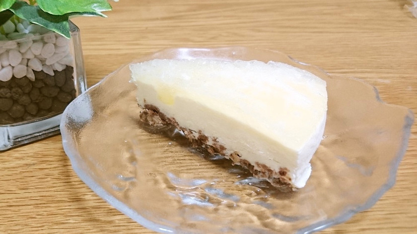 夏にピッタリ★簡単‼冷凍レアチーズケーキ