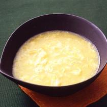 卵入りコーンクリームスープ