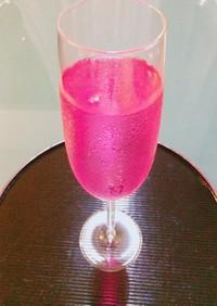 お酢と紫蘇のジュース