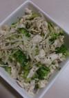 ブロッコリーとささみのダイエットサラダ