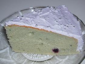 ブルーベリーケーキ~チーズ入り