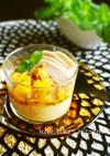 チキンとオレンジソースのポテトクリーム