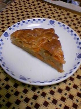 サラダ油で★簡単 柿のケーキ