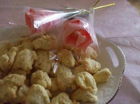簡単♪)))バター風味クッキー(∀`●)