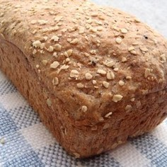 捏ねないパン★麦茶とオーツ*ドイツパン風