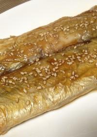 太刀魚の蒲焼*小さい太刀魚でも美味しく♪