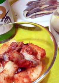 すぐできる牡蠣と大根のキムチ