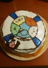 すみっコぐらしのキャラケーキ
