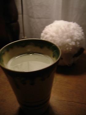 森の抹茶ラテ