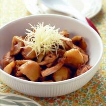 鶏肉と栗の中華風煮込み
