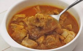 まるごと玉ねぎスープで簡単!チキンカレー