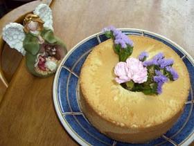 米粉(上新粉)のシフォンケーキ