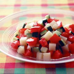 ポテトとトマトのサラダ