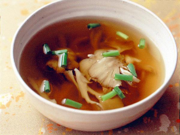 きのこのさっぱりスープ