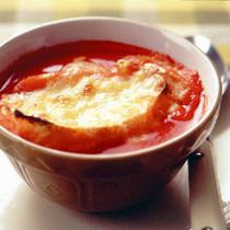トマトのグラタンスープ