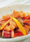 魚介の彩り炒め
